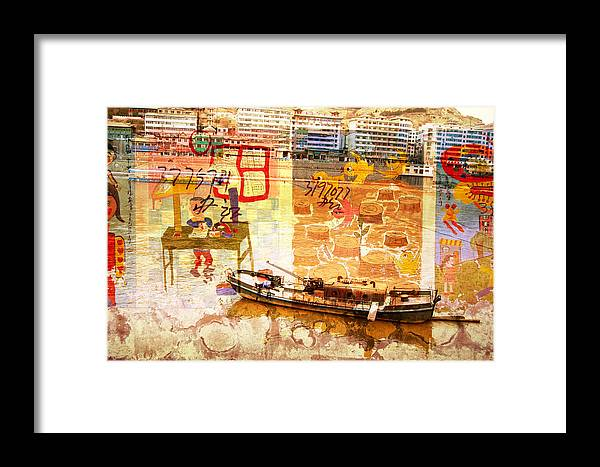 City Framed Print featuring the photograph Lanzhou China by Jean Schweitzer
