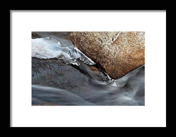 Abstract Nature Photographs Framed Print featuring the photograph Leading Edge I by Rob MacArthur