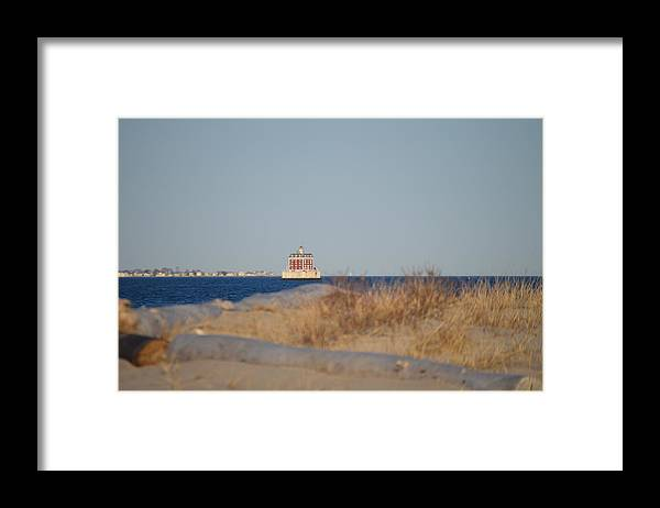 Ledge Light Framed Print featuring the photograph Lighthouse by Jessica Cruz
