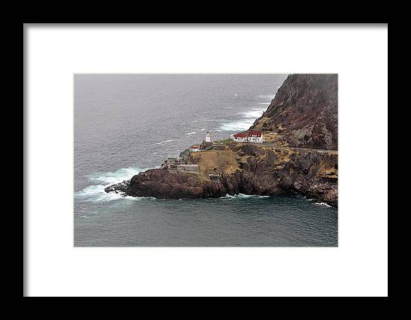 Lighthouse Framed Print featuring the photograph Lighthouse. Saint John's. by Fernando Barozza