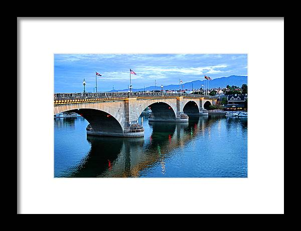 London Bridge Framed Print featuring the photograph London Bridge by Kristin Elmquist