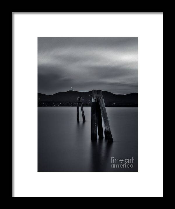 Hudson River Framed Print featuring the photograph Looking Across The Hudson by Chet B Simpson