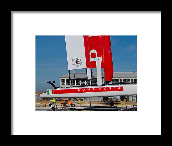 Acws Framed Print featuring the photograph Luna Rossa Piranha by Lorenzo Tonello