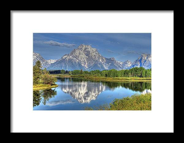 Mountains Framed Print featuring the photograph Majestic by Nancy Wolfe