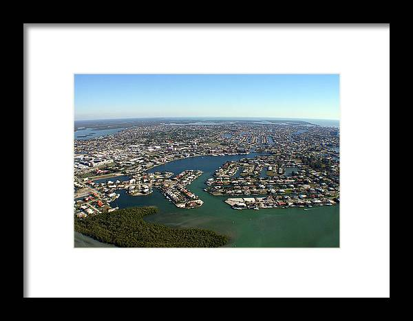 Framed Print featuring the photograph Marco South East by Richard Sherman