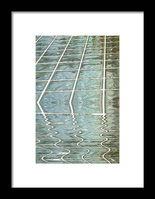 Glass Framed Print featuring the photograph Melting Glass by Stephen Warren