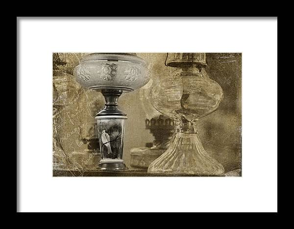 Photo Montage Framed Print featuring the photograph Memories Of Paris by Bonnie Bruno