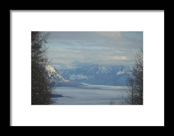 Mountains Framed Print featuring the photograph Mountain View by Dorothea Hanson