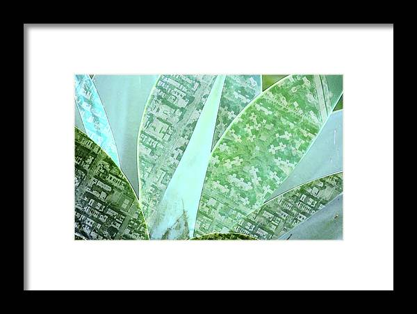 Nature Framed Print featuring the digital art Natural Map by Marcelo Del Rei