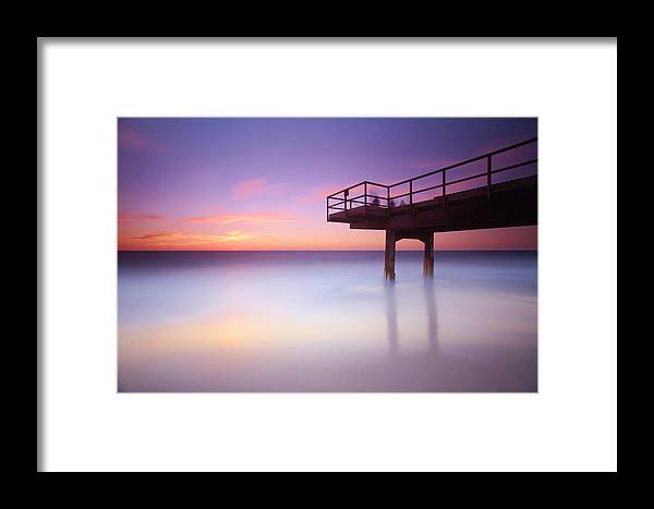 Seascape Framed Print featuring the photograph North Beach Perth Western Australia by Jacqui Hunt