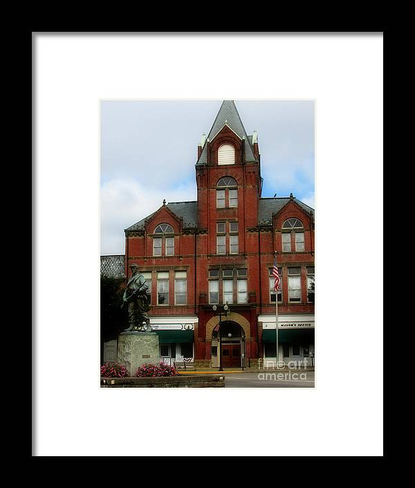 Framed Print featuring the photograph Old Opera House by Scott B Bennett
