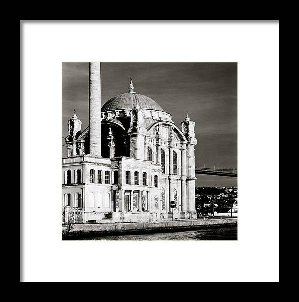 Istanbul Framed Print featuring the photograph Ortakoy by Shaun Higson