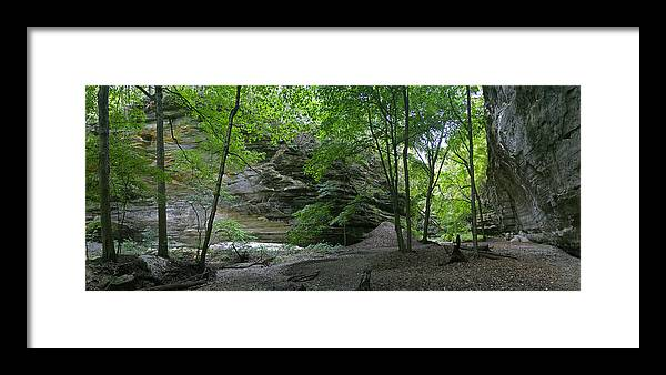 Forest Photographs Framed Print featuring the photograph Ottawa Canyon by Gary Lobdell