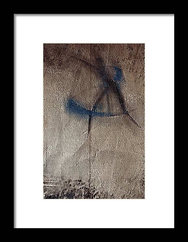 Mp3011 Framed Print featuring the digital art Panel 3 Of 3 Multi Panel Mp3011 by Frida Kaas