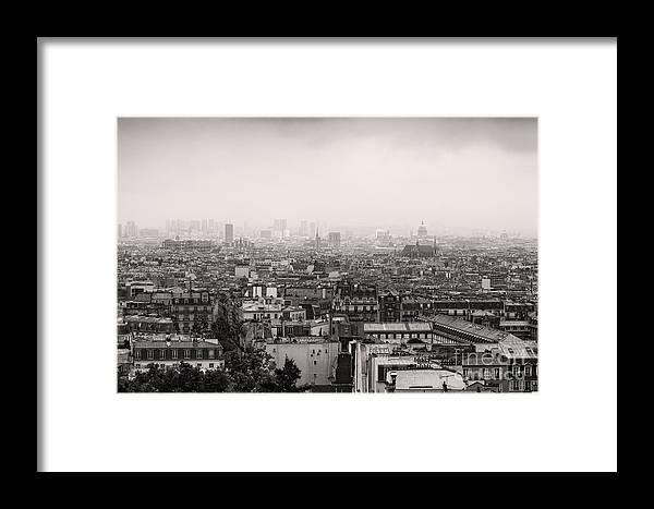 Paris Framed Print featuring the photograph Paris 21 by Tom Uhlenberg