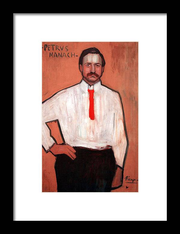Pedro Manach Framed Print featuring the photograph Picasso's Pedro Manach by Cora Wandel