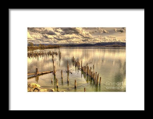 Pileings Framed Print featuring the photograph Pileings by Matt Davis