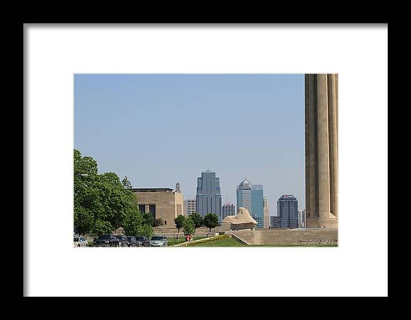 Kansas City Photos Framed Print featuring the photograph Plaza Kc by Tinjoe Mbugus