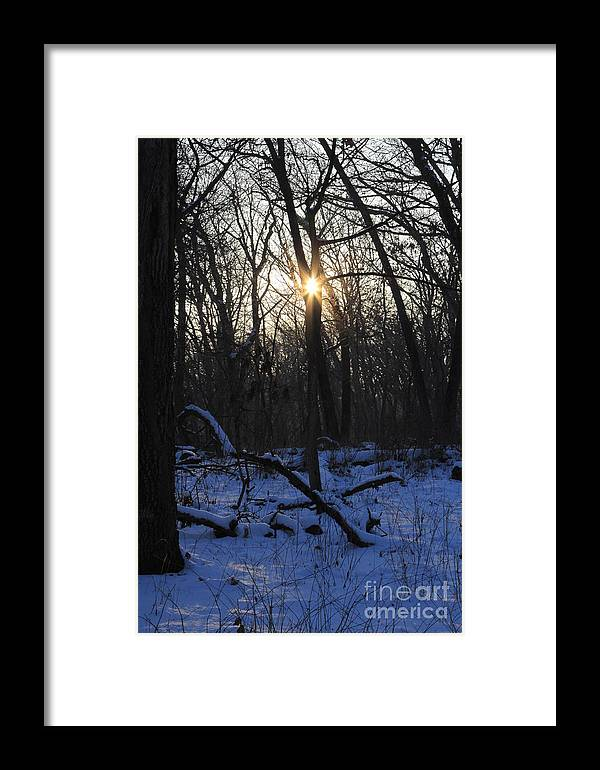 Point Of Light Framed Print featuring the photograph Point Of Light by Rick Rauzi