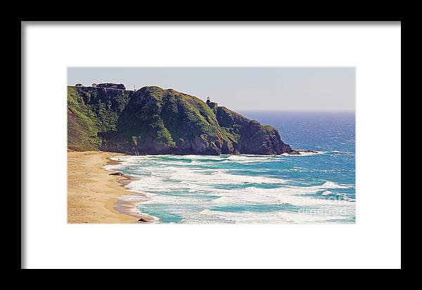 Point Sur Lighthouse Framed Print featuring the photograph Point Sur Lighthouse by Jack Schultz