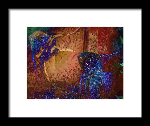 Fish Tank Framed Print featuring the photograph Pool Party by Irene Martinelli