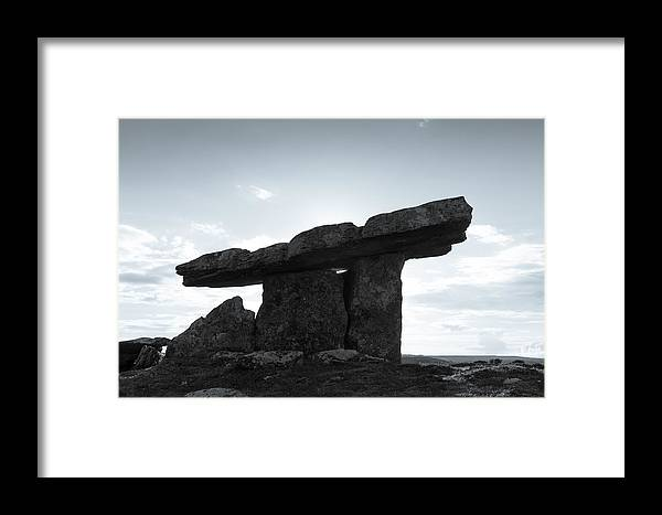 Poulnabrone Framed Print featuring the photograph Poulnabrone by Jeff Kantorowski