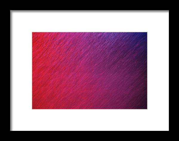 Fine Art Photography Framed Print featuring the photograph Red Bubbles IIi by Matt Swinden