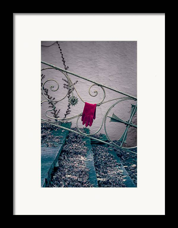 Glove Framed Print featuring the photograph Red Glove by Joana Kruse