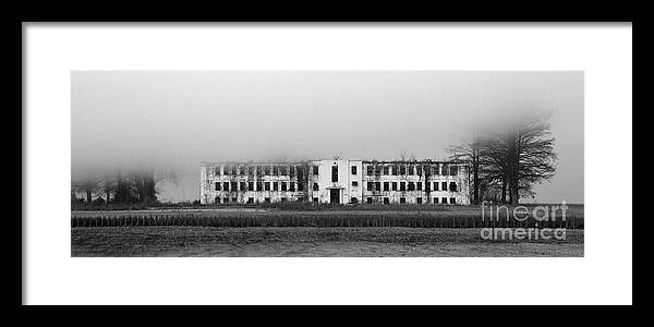 Foggy Morning Framed Print featuring the photograph Renz Prison Farm by Christy Phillips