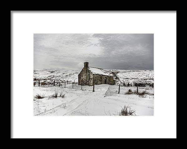 Ribbledale Framed Print featuring the photograph Ribbledale Derilict by Trevor Kersley