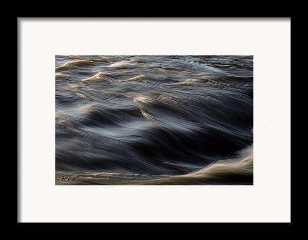 Water Framed Print featuring the photograph River Flow by Bob Orsillo
