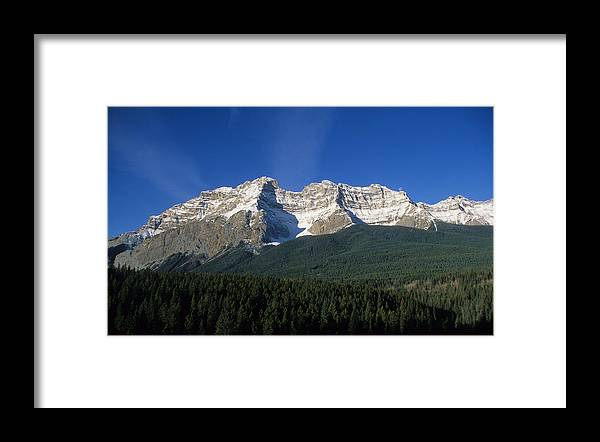 Snowy Framed Print featuring the photograph Rocky Mountain High by Carl Purcell