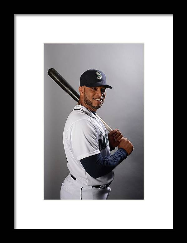 Media Day Framed Print featuring the photograph Seattle Mariners Photo Day by Norm Hall