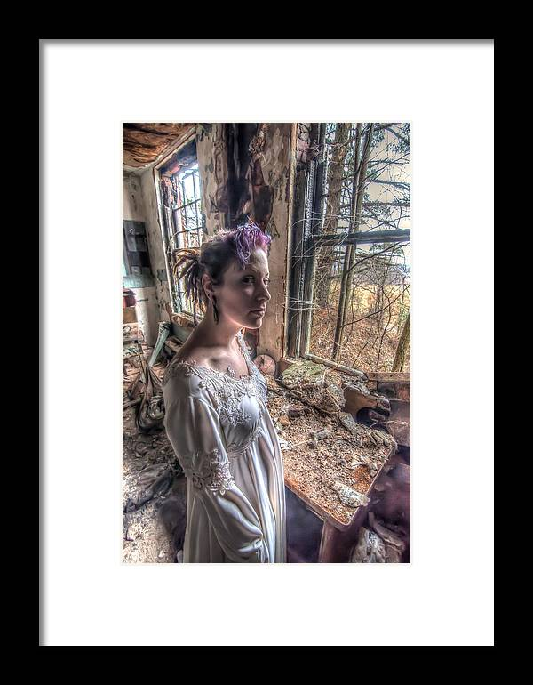 Shannon - Forest Haven Framed Print featuring the photograph Shannon - Forest Haven by Dem Wolfe