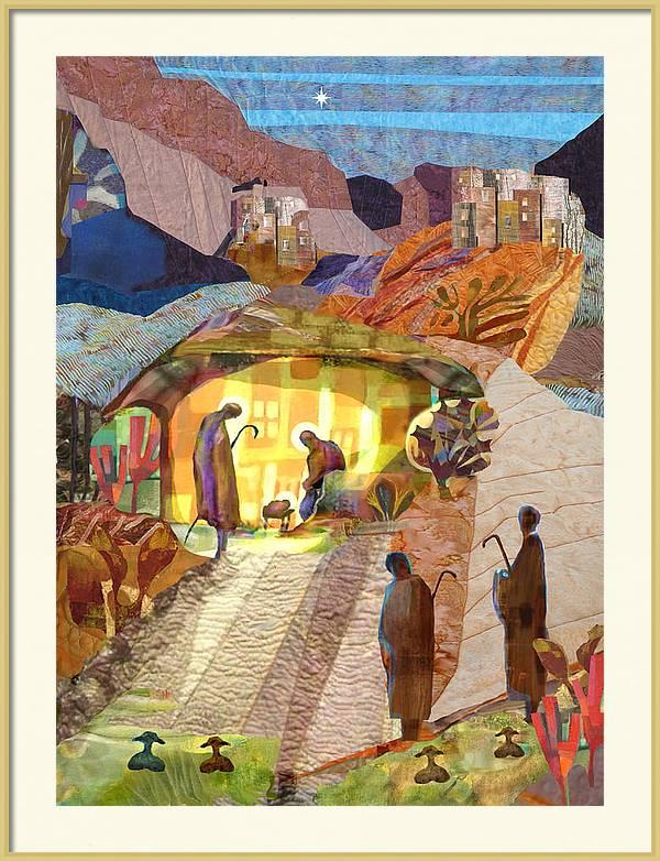 Shepherds at Bethlehem by Michael Torevell