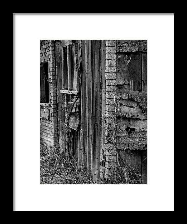 Old Framed Print featuring the photograph Shingles by Tara Lynn