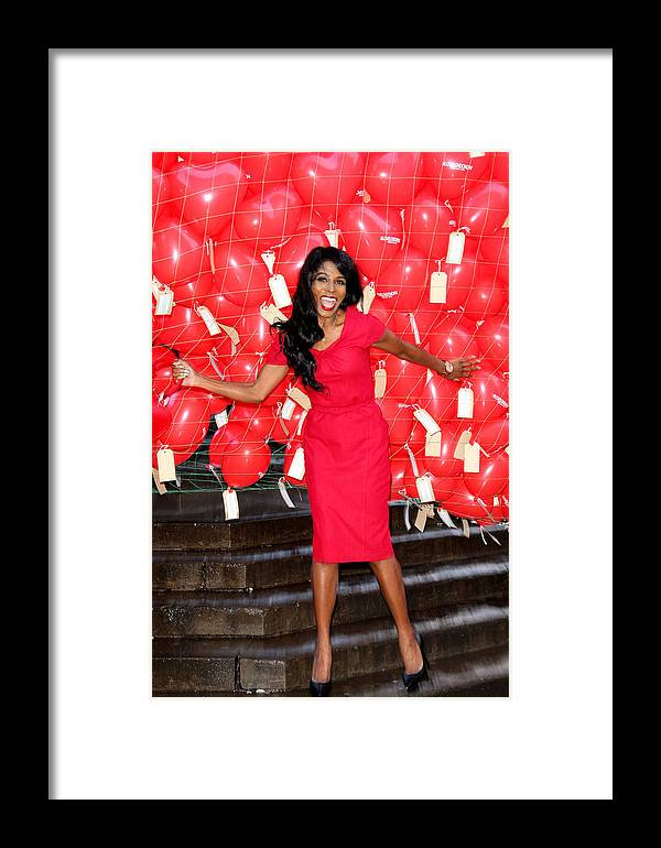 Jezcself Framed Print featuring the photograph Sinitta 1 by Jez C Self