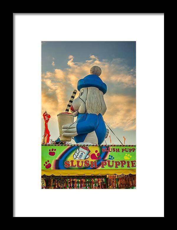 Steve Harrington Framed Print featuring the photograph Slush Puppie by Steve Harrington