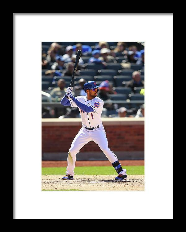 American League Baseball Framed Print featuring the photograph St Louis Cardinals V New York Mets by Al Bello