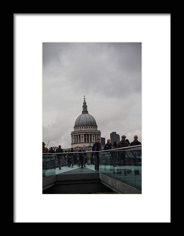 St Pauls Framed Print featuring the photograph St. Paul's by Dawn OConnor