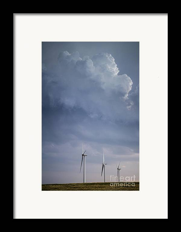 Stormy Skies Framed Print featuring the photograph Stormy Skies by Jim McCain