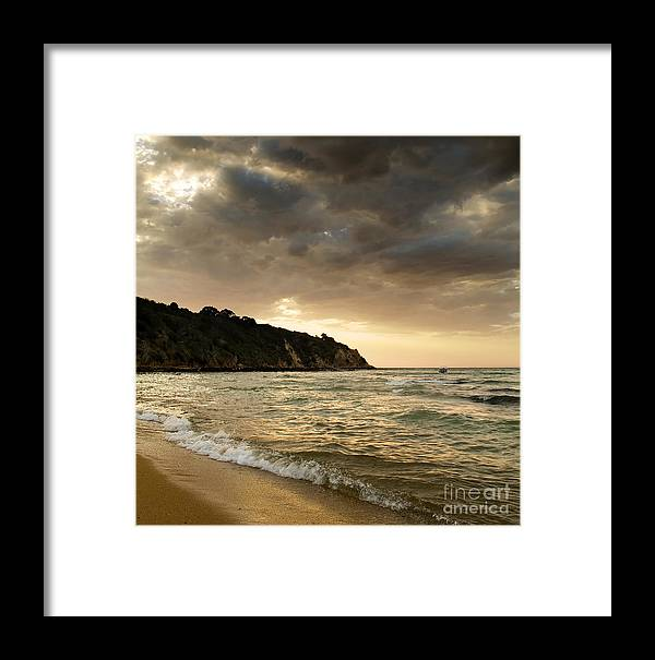 Travel Framed Print featuring the photograph Sunset Beach by Tim Hester