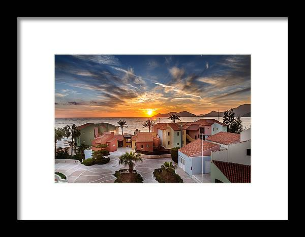 Sunset Framed Print featuring the photograph Sunset by Ivelin Donchev