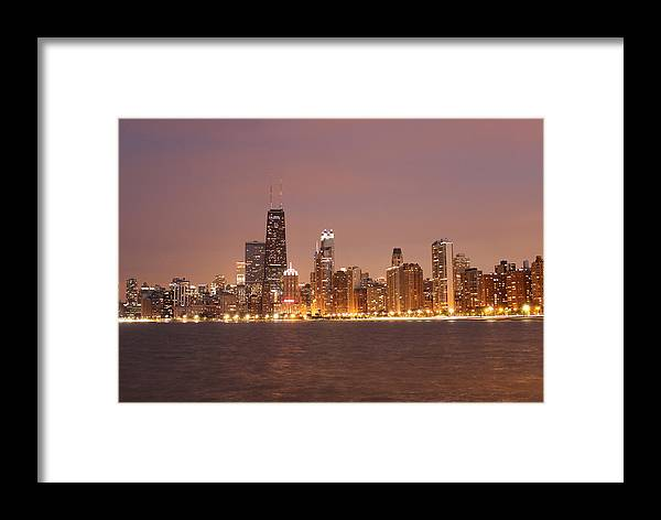 Chicago Framed Print featuring the photograph Sweet Home Chicago by Dan Susek