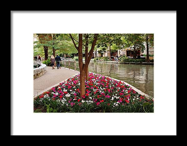 Framed Print featuring the photograph Take The Scenic Route by Barbara Langdon