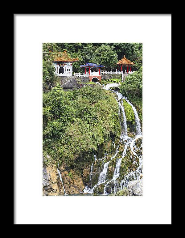 2014 Framed Print featuring the photograph Temple Of Eternal Spring by Jannis Werner