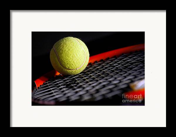 Accessory Framed Print featuring the photograph Tennis Equipment by Michal Bednarek