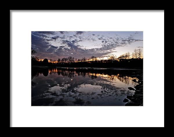 Vimy Memorial Framed Print featuring the photograph The Art Of Sunset. by Ratan Mohapatra