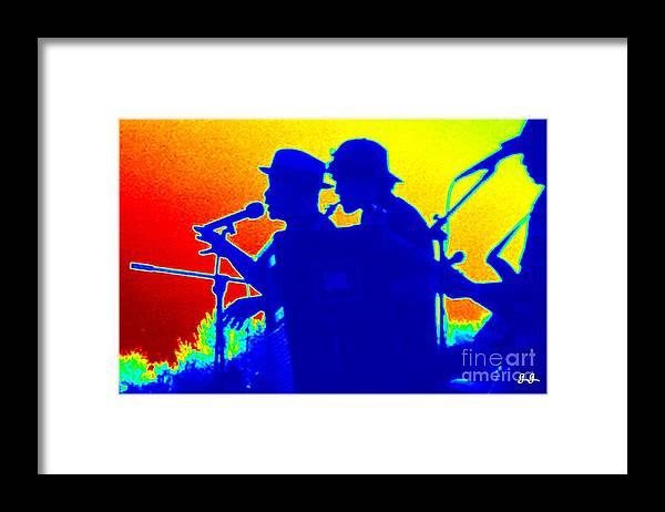 The Blues Framed Print featuring the photograph The Blues by Geri Glavis