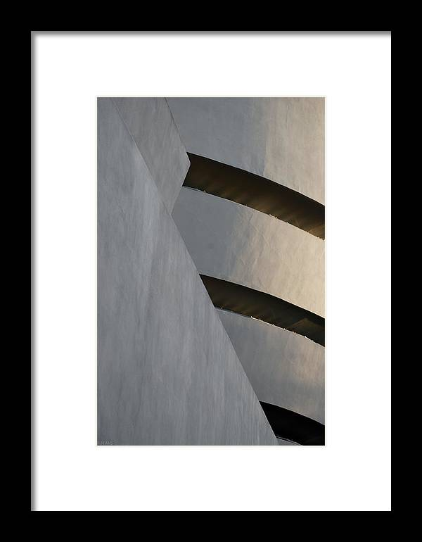 Scenic Framed Print featuring the photograph The Guggenheim by Rob Hans
